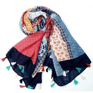 Accessories - Handmade anthro boho scarf